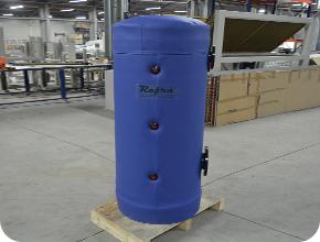 Емкости систем рекуперации в холодильных установках